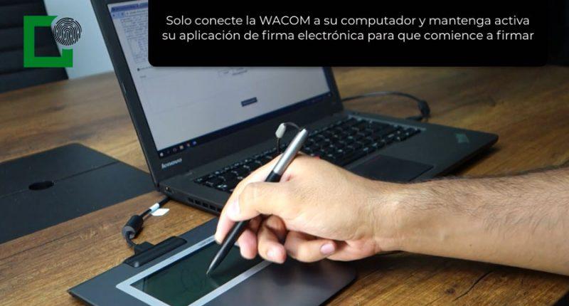 Wacom STU 430 Firma Electronica